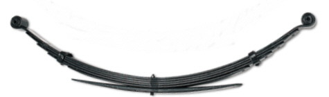 leaf spring for cars, vans and pickups